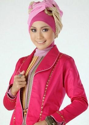 Gambar Contoh Model Blazer Muslim Terbaik 6 - Model Blazer pesta