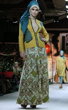 Gambar Contoh Model Blazer Muslim Terbaik 9 - Blazer acara Semi Formal