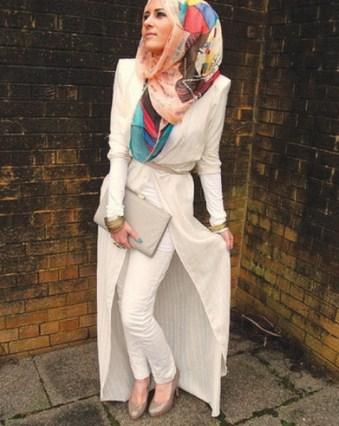 Gambar Model Baju Muslim Kantor Terbaru 1 - Celana