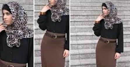 Gambar Model Baju Muslim Kantor Terbaru 11 - Desain Mas KIni Pakaian Kerja Muslimah