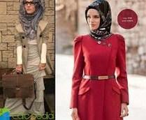 Gambar Model Baju Muslim Kantor Terbaru 6 - Model Hijab Kerja SImpel Elegan