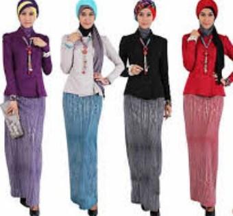 Gambar Model Baju Muslim Kantor Terbaru 7 - Kumpulan Foto Baju Kerja Kantor Terbaru