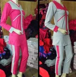 Koleksi Foto dan Contoh Model Trend Baju Senam Muslim 10 - Baju Senam Muslim Busana Oke