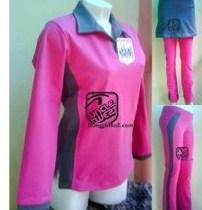 Koleksi Foto dan Contoh Model Trend Baju Senam Muslim 3 - Kaos berkerah terbaru untuk olahraga