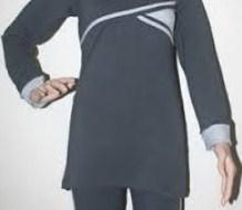 Koleksi Foto dan Contoh Model Trend Baju Senam Muslim 4 - warna Kalem
