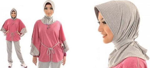 Koleksi Foto dan Contoh Model Trend Baju Senam Muslim 7 - Model Hijab Masa Kini untuk Olahraga